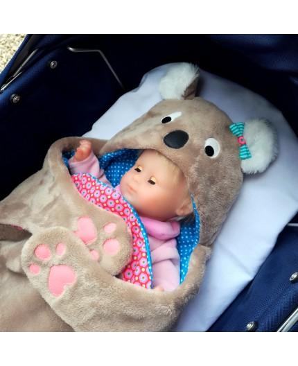 Patron nid d'ange Koala pour poupée
