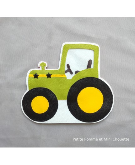 Patron trousse tracteur (version pochette papier)