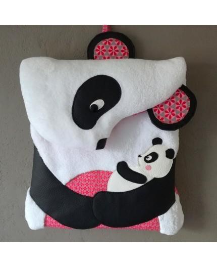 Patron sac à dos Panda (version pochette papier)