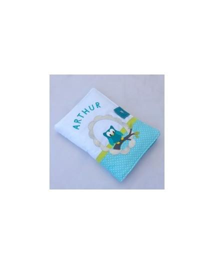 copy of Protège-carnet de santé ombre de chat turquoise